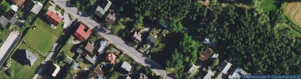 Zdjęcie satelitarne Marianki ul.