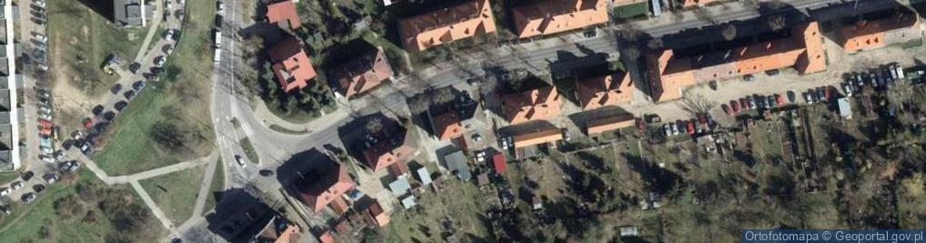 Zdjęcie satelitarne Matejki Jana 25