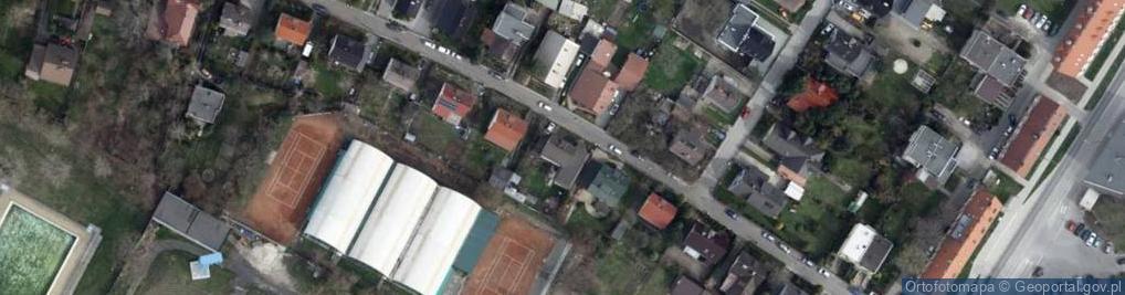 Zdjęcie satelitarne Maków ul.
