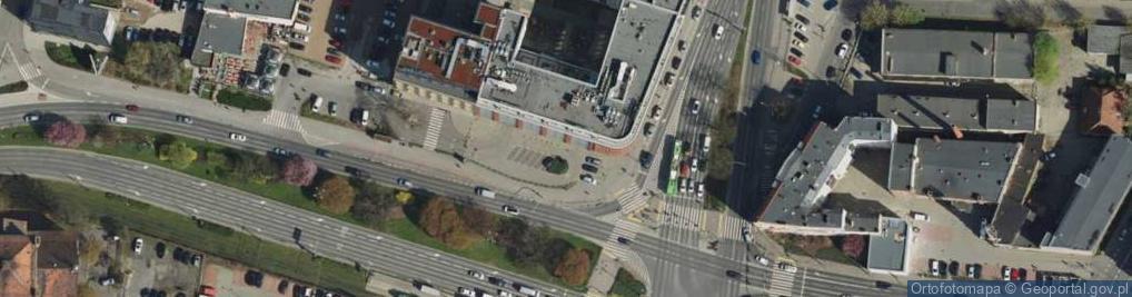 Zdjęcie satelitarne Małe Garbary 9