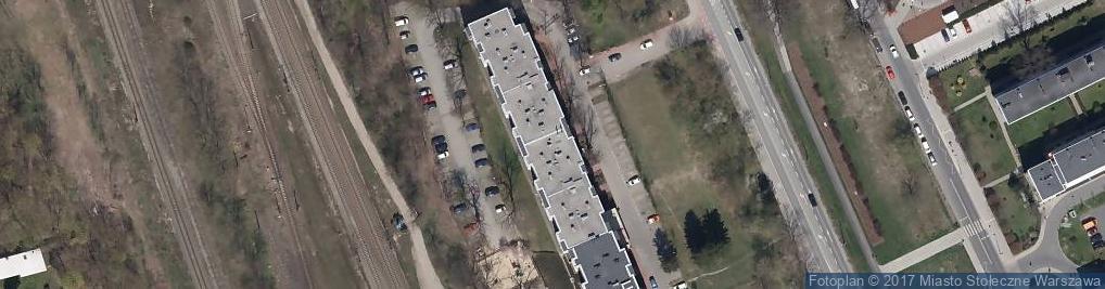 Zdjęcie satelitarne Marywilska ul.