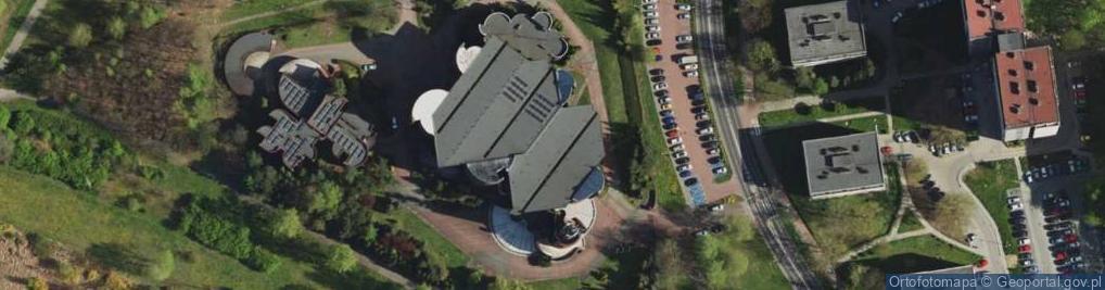 Zdjęcie satelitarne Mieszka I 6