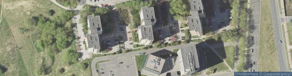 Zdjęcie satelitarne Młodej Polski 14