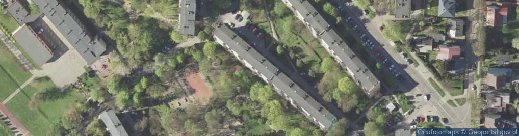 Zdjęcie satelitarne Młodzieżowa 5