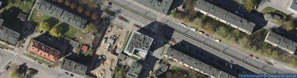 Zdjęcie satelitarne Morska 127
