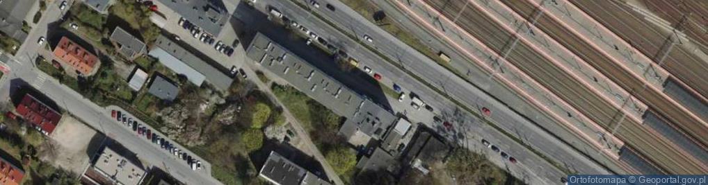 Zdjęcie satelitarne Morska 43/47