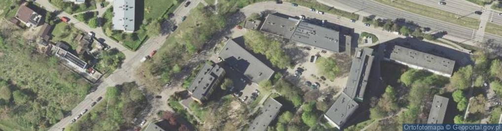 Zdjęcie satelitarne Montażowa 16