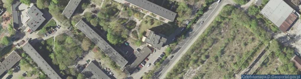 Zdjęcie satelitarne Motorowa 4