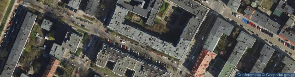 Zdjęcie satelitarne Morawskiego Franciszka 2