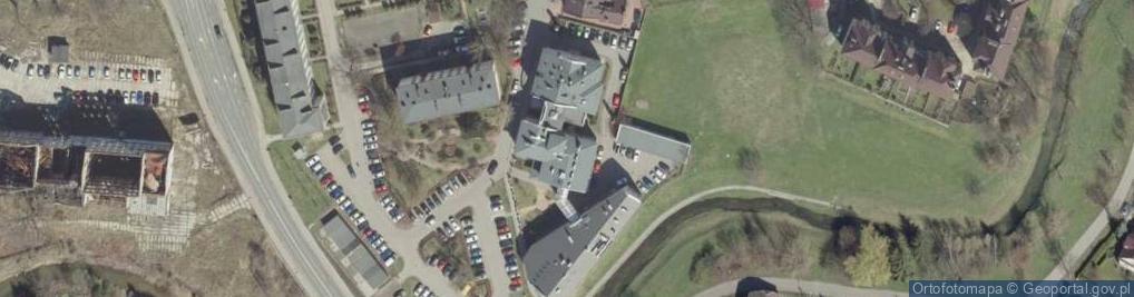 Zdjęcie satelitarne Mostowa 6