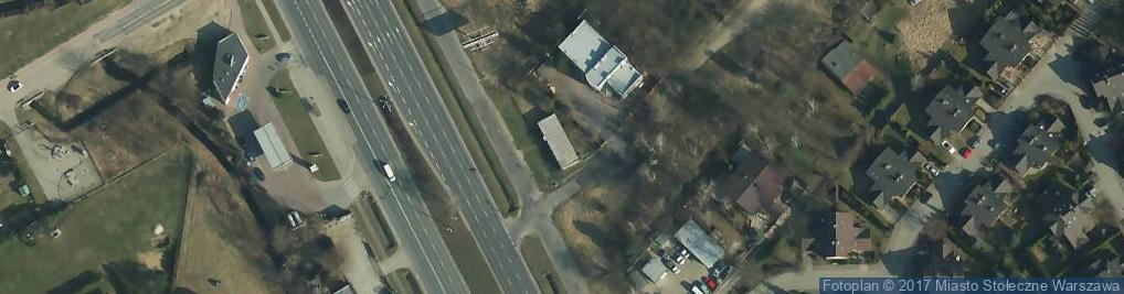 Zdjęcie satelitarne Modlińska 332