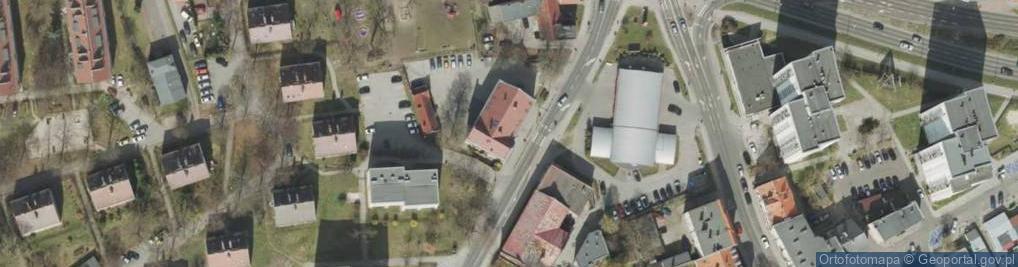 Zdjęcie satelitarne Moniuszki Stanisława 19