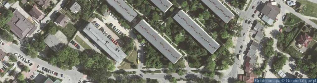 Zdjęcie satelitarne Na Kozłówce 31