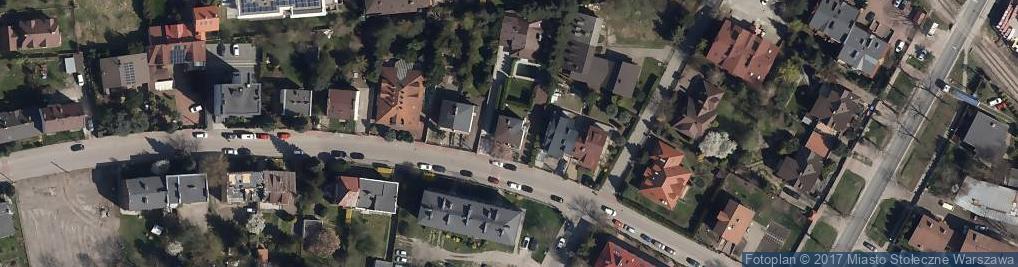 Zdjęcie satelitarne Nike ul.
