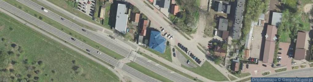 Zdjęcie satelitarne Nowowarszawska ul.