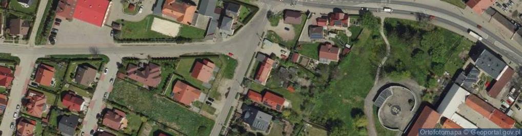 Zdjęcie satelitarne Nowoosadnicza ul.
