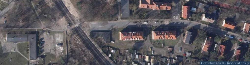 Zdjęcie satelitarne Norweska ul.
