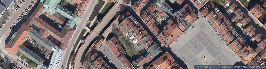 Zdjęcie satelitarne Nowomiejska ul.