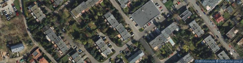 Zdjęcie satelitarne Odolanowska ul.