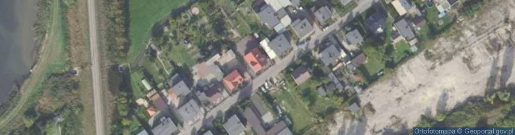 Zdjęcie satelitarne Okrzei Stefana 22
