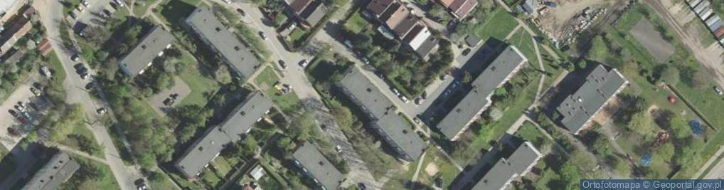 Zdjęcie satelitarne Olsztyńska 10