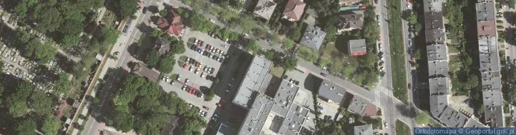 Zdjęcie satelitarne Olszańska ul.