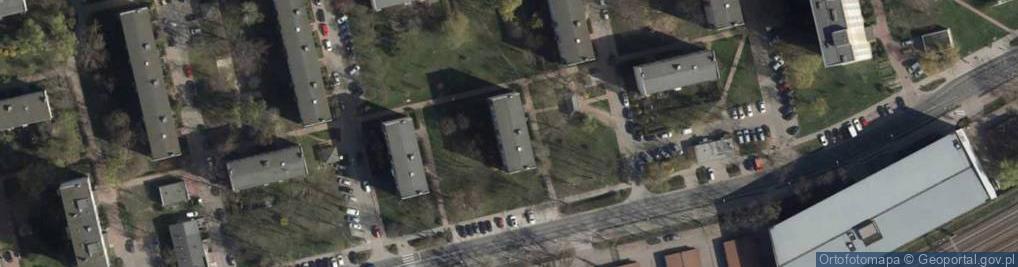 Zdjęcie satelitarne Orląt Lwowskich 46