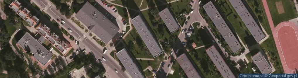 Zdjęcie satelitarne Osiedle 25-lecia PRL os.