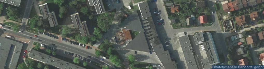 Zdjęcie satelitarne Osiedle Złotej Jesieni os.