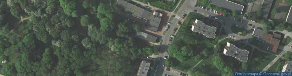 Zdjęcie satelitarne Osiedle Dywizjonu 303 os.