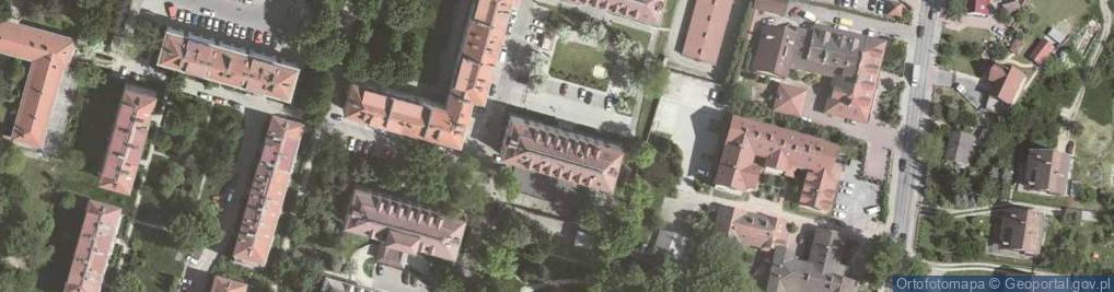 Zdjęcie satelitarne Osiedle Młodości 7