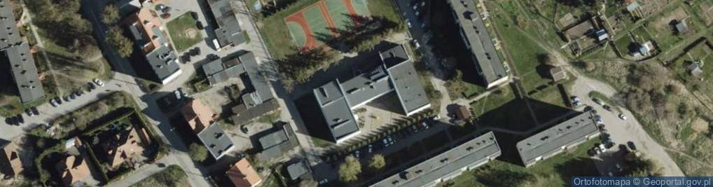 Zdjęcie satelitarne Osiedle Młodych 8