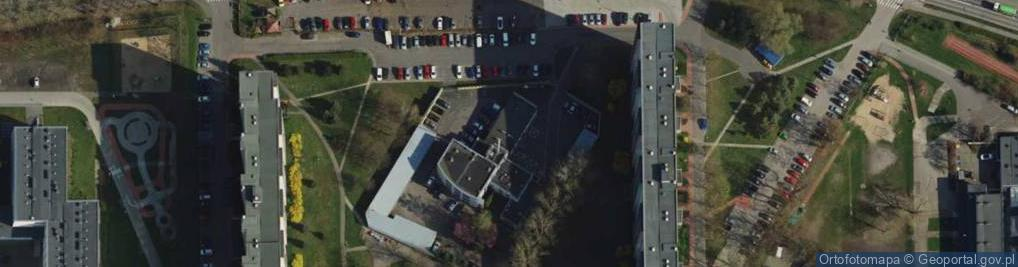 Zdjęcie satelitarne Osiedle Króla Jana III Sobieskiego os.