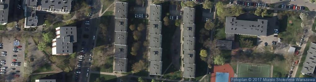 Zdjęcie satelitarne Osowska ul.