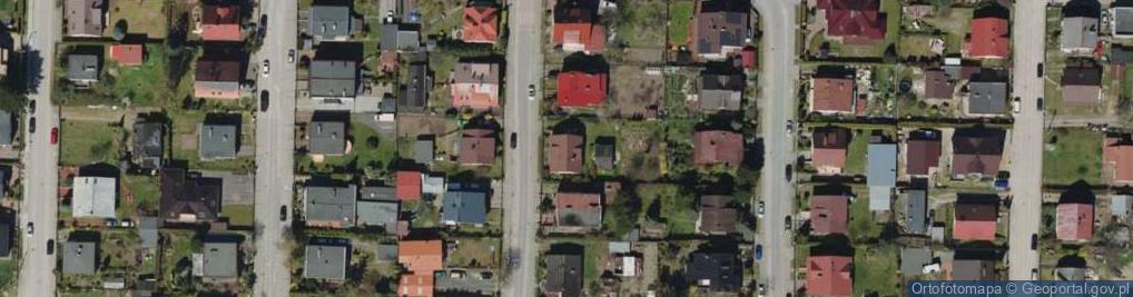 Zdjęcie satelitarne Osiedle 1000 Lecia PP os.