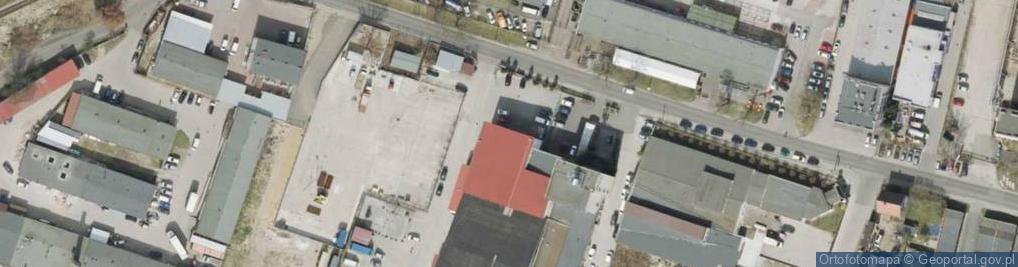 Zdjęcie satelitarne Osadnicza 35