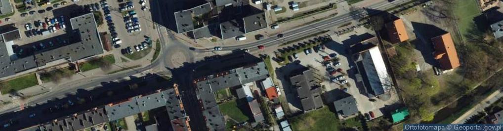 Zdjęcie satelitarne Paderewskiego Ignacego Jana 4c