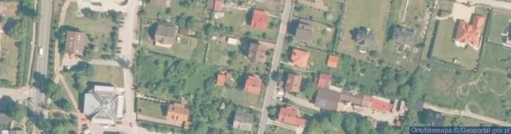 Zdjęcie satelitarne Partyzantów 5
