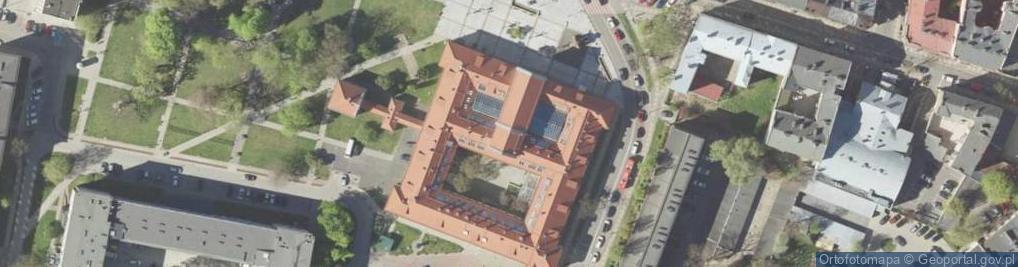 Zdjęcie satelitarne Peowiaków 12