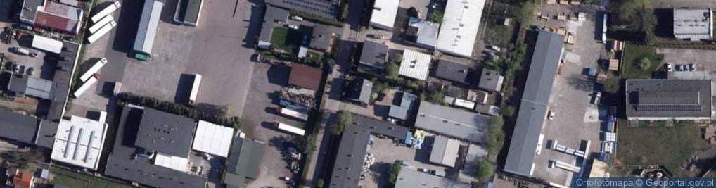 Zdjęcie satelitarne Pińczowska ul.