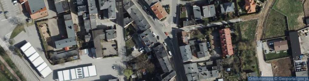 Zdjęcie satelitarne Piłsudskiego Józefa, marsz. 8