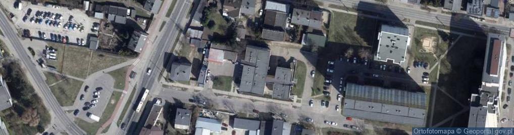 Zdjęcie satelitarne Piaski ul.