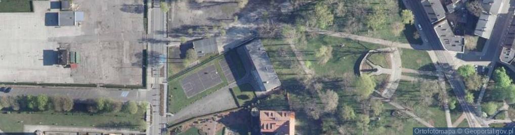 Zdjęcie satelitarne Plebanka ul.