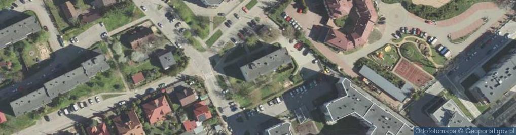 Zdjęcie satelitarne Pochyła 3