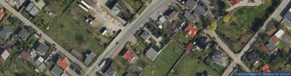 Zdjęcie satelitarne Poznańska 60a