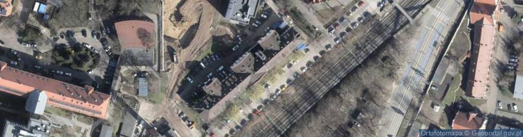 Zdjęcie satelitarne Połabska ul.