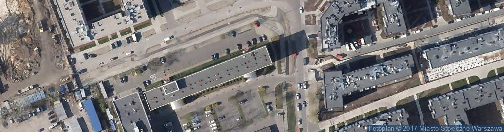 Zdjęcie satelitarne Podskarbińska 25