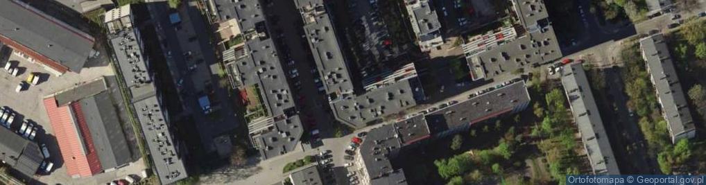 Zdjęcie satelitarne Pochyła 13