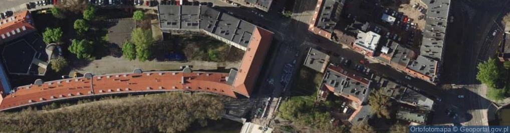 Zdjęcie satelitarne Pomorska 2