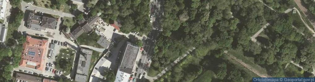 Zdjęcie satelitarne Prądnicka 5